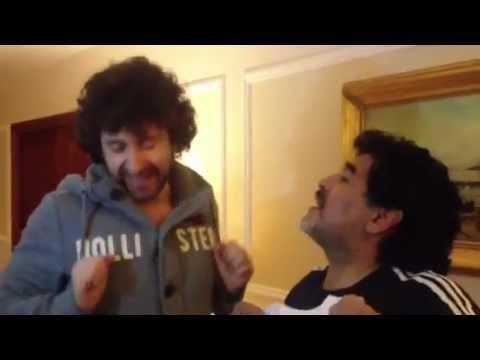 Maradona al San Carlo, in tv l'esclusiva di Canale Nove del gruppo Discovery