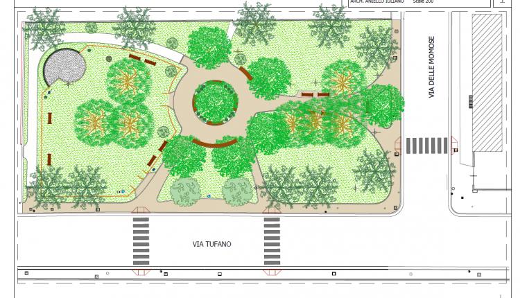 Pomigliano d'Arco, riqualificazione di piazzetta Montessori: via le barriere architettoniche e installazione di una mappa tattile per i non vedenti