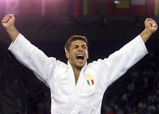 Il Judoka campione del mondo Pino Maddaloni al Busen Club Marino di Somma Vesuviana