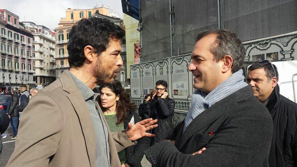 """Al teatro Mercadante di Napoli ci sarà la proiezione pubblica della prima puntata della serie Tv """"I Bastardi di Pizzofalcone"""""""