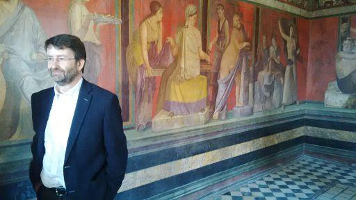 Franceschini e Cretu a Pompei per unaricognizione dei cantieri del Grande Progetto