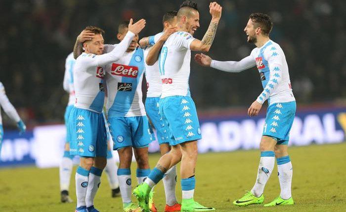 SI SOGNA DI PIU' Serie A: Bologna Napoli 1-7, triplette per Hamsik e Mertens