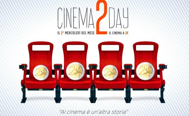 Cinema2Day, fino all'8 febbraio al cinema le prime visione costano due euro