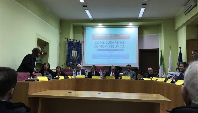 Come Curarsi nei comuni vesuviani, un convegno interessante diventa passerella per i consiglieri regionali. Quali proposte per l'Apicella?