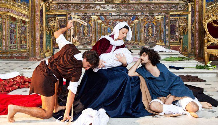 """VOLART 2017  III edizione """"I Misteri di Napoli ispirano Caravaggio"""", nel Foyeur della Galleria  Sedicicasa"""