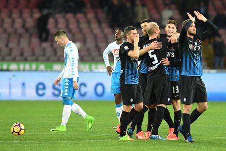 Ko Napoli al San Paolo: l'Atalante bella e spietata mette in ginocchio una squadra stanca