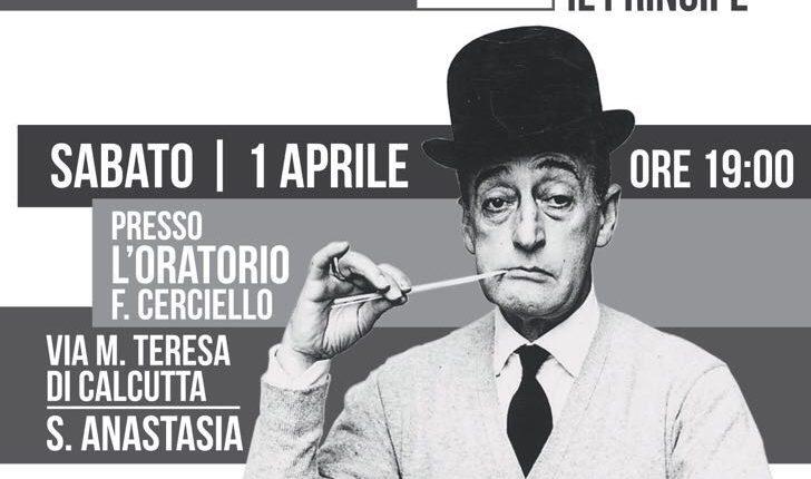 Urbe Vesuviana omaggia il Principe della risata a cinquanta anni dalla sua morte, special guest: Antonio Merone