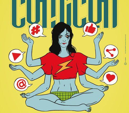 Comicon, Sasha Grey come la dea Kalì:Recchioni disegna il manifesto ufficiale sul tema fumetto e web