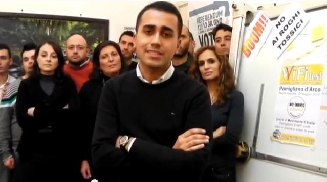 Regionali, Luigi Di Maio: «In Campania mai con De Luca»