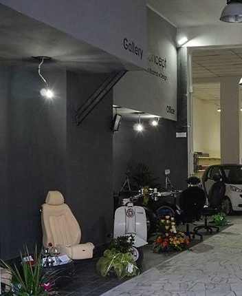 Garage Concept, a Ottaviano un luogo dove ferro e rottami diventano pezzi di design