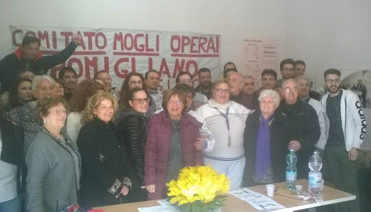NO GRAZIE Ecco la festa della donna in versione operaia: nasce ufficialmente il Comitato Mogli Operai Pomigliano