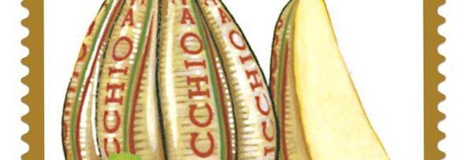 """Un francobollo Auricchio per festeggiare il """"provolone vesuviano"""""""