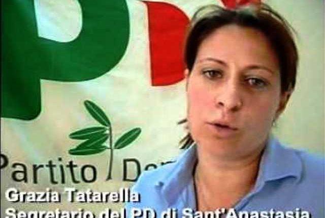 Illazioni e accuse al segretario, a Sant'Anastasia il Pd difende Grazia Tatarella