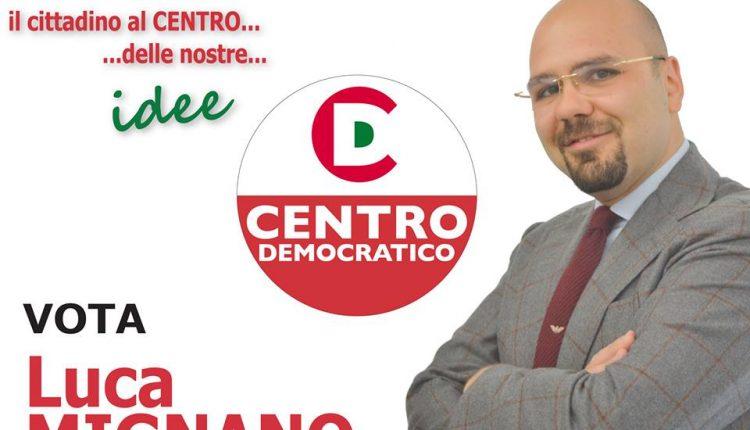 A San Giorgio a Cremano, Centro Democratico defenestra Luca Mignano e chiarisce la fiducia al sindaco Zinno