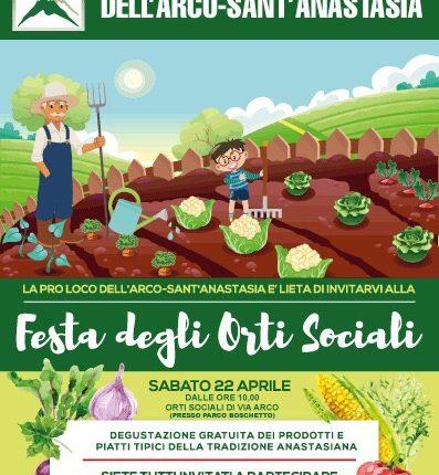 A Sant'Anastasia la Festa degli orti sociali targata ProLoco