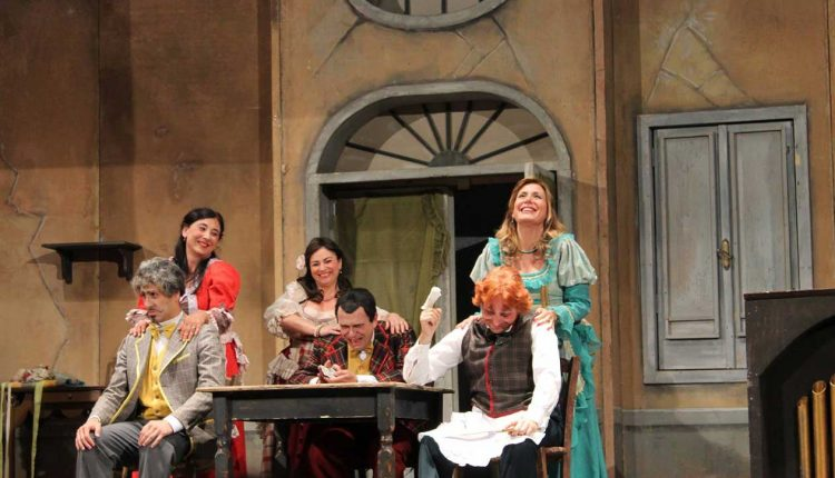 """Tornano in scena Gli Ardisti con """"Lo Scarfalietto"""", commedia di Eduardo Scarpetta in scena al Teatro Summarte di Somma Vesuviana"""