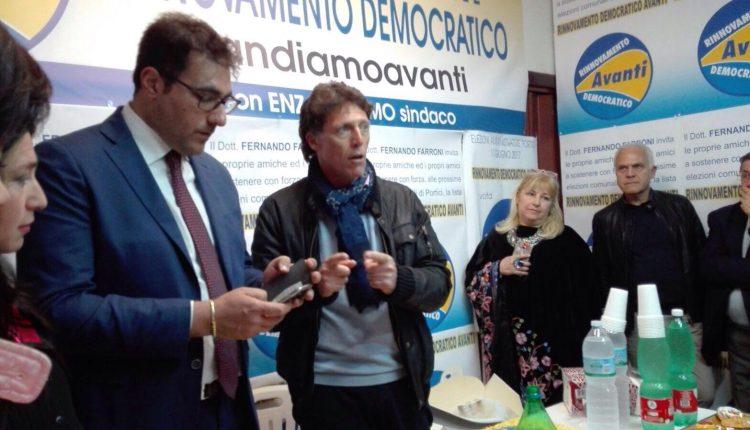 """A Portici in campo """"Rinnovamento democratico"""" la lista targata Fernando Farroni che appoggia la corsa di Cuomo"""