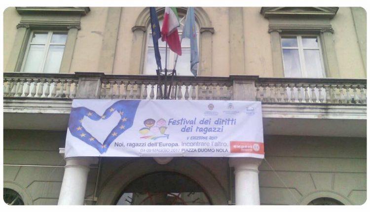 """""""Noi, ragazzi dell'Europa. Incontrare l'altro"""" : torna il Festival dei Diritti dei Ragazzi, dal 4 al 9 maggio in Piazza Duomo a Nola"""