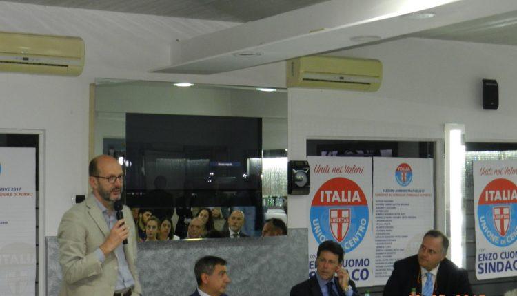 """Portici verso il voto – L'UdC presenta la lista e si scaglia contro il Movimento di De Luca, nonostante siano in coalizione assieme: """"Basta civismo"""""""