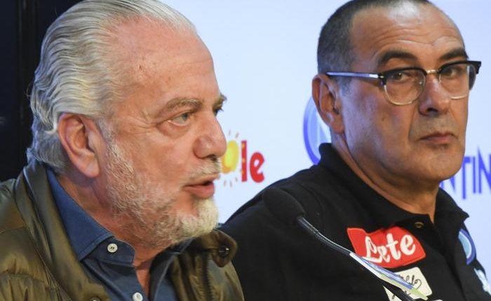 Sarri-De Laurentis: il Napoli pronto al rinnovo del contratto all'allenatore