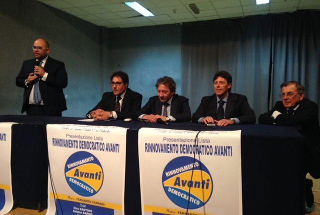 PORTICI VERSO IL VOTO – Presentata Rinnovamento Democratico Avanti la lista coordinata da Fernando Farroni che appoggia la corsa di Enzo Cuomo