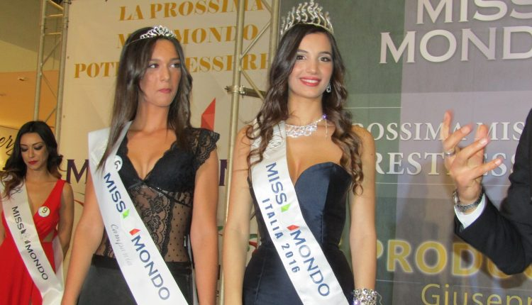 Anna D'Antonio, 17enne di Casalnuovo di Napoli, è la nuova Miss Mondo Campania 2017