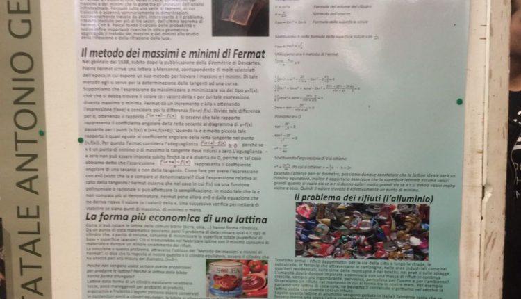 Al Liceo Scientifico Calamandrei di Ponticelli il premio P.L.S. (Progetto Lauree Scientifiche) della Federico II