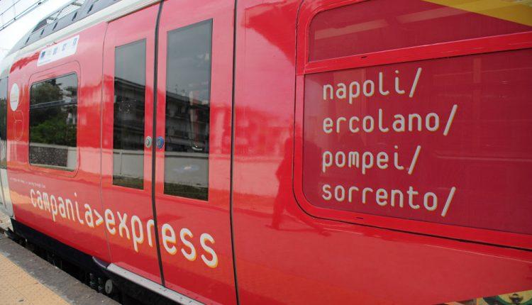 Campania Express, ferma a Ercolano il Treno della Cultura:servizio sarà attivo fino al 15 ottobre