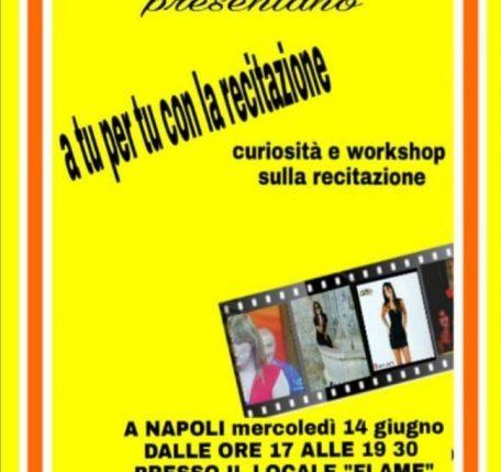 Recitare per divertirsi e coronare il Sogno: a Napoli un workshop sulla recitazione a cura dell'attrice Nancy Mastia