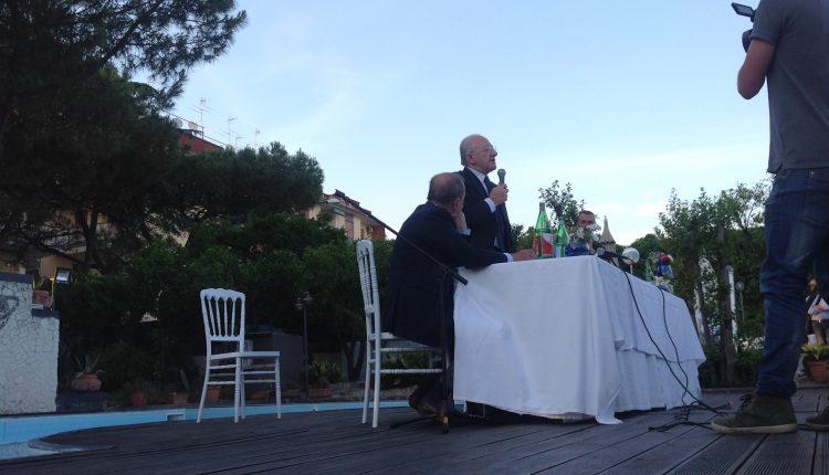 """Portici verso il voto – il governatore De Luca in sostegno a Enzo Cuomo: """"Prima dell'Estate lo sblocco dei fondi per il Lungomare""""."""