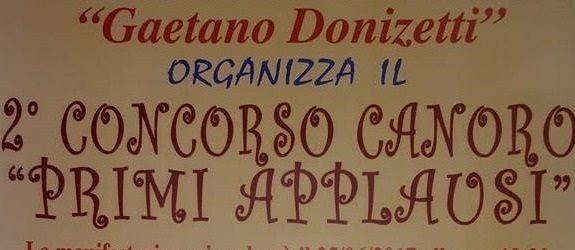 """Primi Applausi, al teatro Suore degli Angeli di Pollena Trocchia la seconda edizione dell'evento organizzato dall'associazione """"Donizetti"""""""