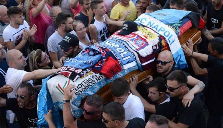 Napoli in marcia contro lo scontodi pena per l'assassino di Ciro Esposito