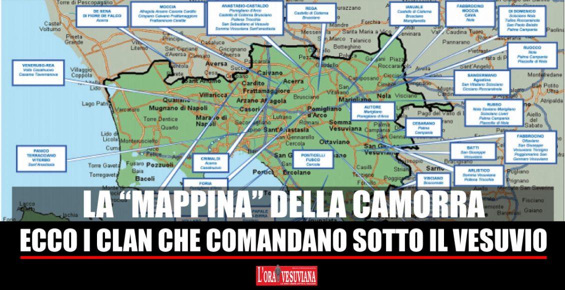 CAMORRA – Chi comanda sotto il Vesuvio secondo la relazione semestrale della Direzione Investigativa Antimafia