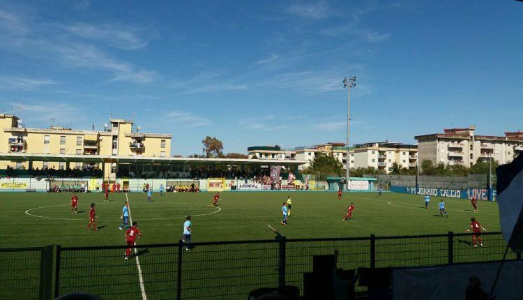 0 a 3. All' Ercolanese ll derby vesuviano di Serie D
