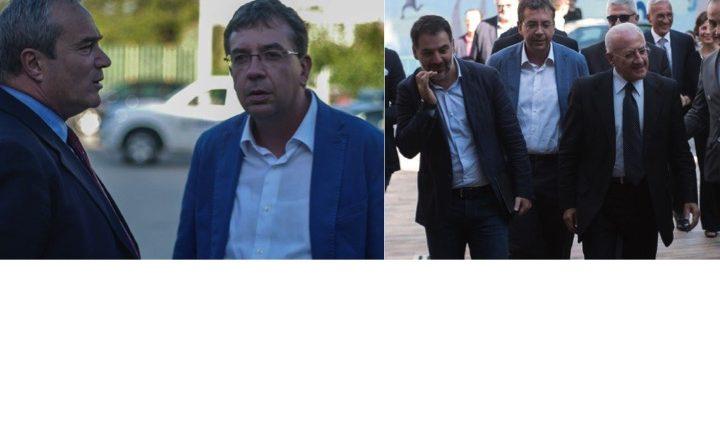 Aldo Maione si dimette da segretario del Pd a Pollena Trocchia ma partecipa alla visita del Governatore De Luca a Sant'Anastasia