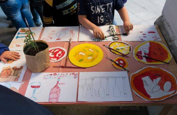 MAGNA' A Napoli il cartone della pizza solidale per i bambini della Sanità