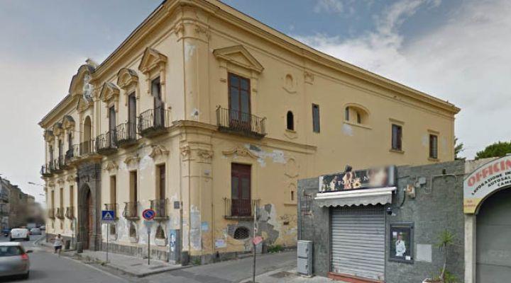 Torre del Greco: crolla ancora Villa Miglio D'Oro