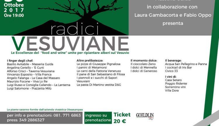 Radici Vesuviane- Un evento per gli alberi del Vesuvio