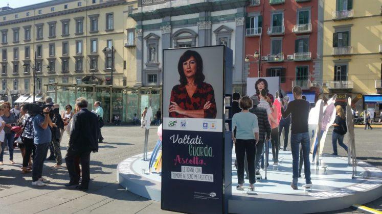 """""""Voltati. Guarda. Ascolta. Le donne con un tumore al seno metastatico"""" iniziativa a Napoli per prevenire il tumore mammario metastatico"""