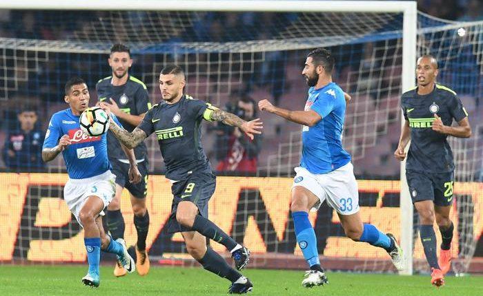 Serie A: Napoli Inter 0-0, in testa non cambia nulla ma si frena la corsa degli azzurri