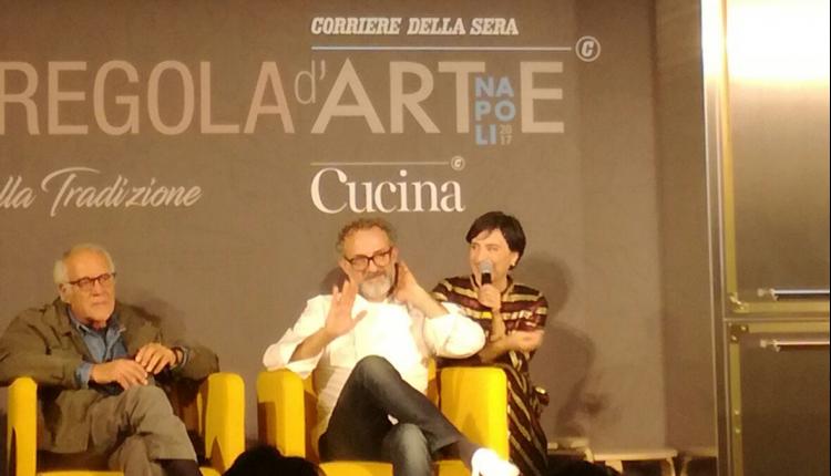 L'annuncio a 'Cibo a regola d'arte' la kermesse Corriere della Sera:Massimo Bottura aprirà Refettorio a Napoli
