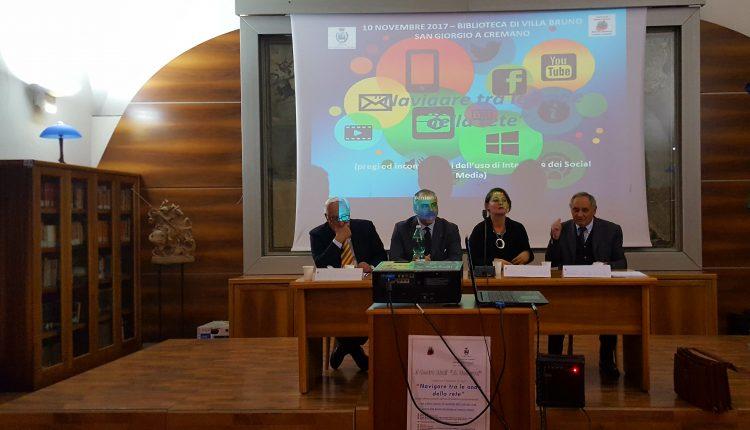 """""""Navigare tra le maglie della rete""""- In Villa Bruno si parla del rapporto tra i giovani e le tecnologie"""