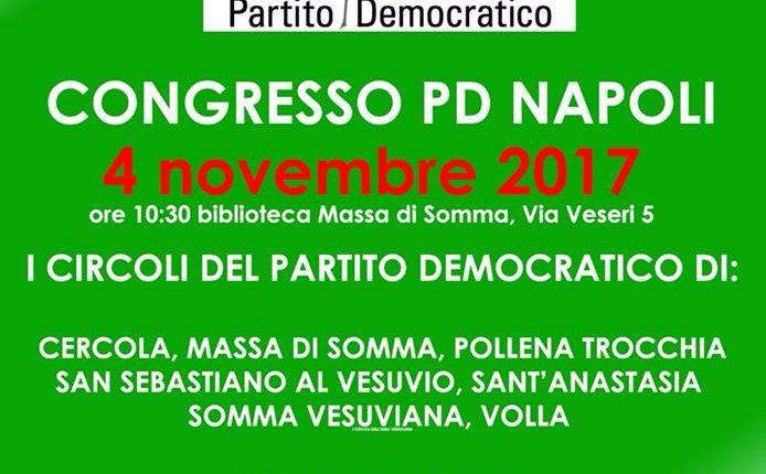 Segretario Provinciale del PD di Napoli: in vista delle elezioni un incontro per presentare i candidati