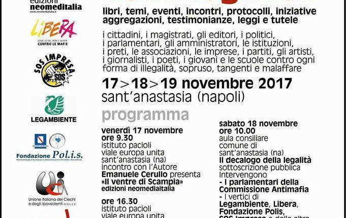 Giornate della Legalità a Sant'Anastasia – Libera, Parlamentari, Legambientee associazioni uniti vs la Camorra