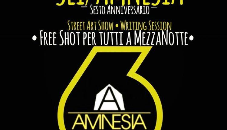 """Pomigliano. Sesto anniversario per """"Amnesia"""": tra street art e cultura."""