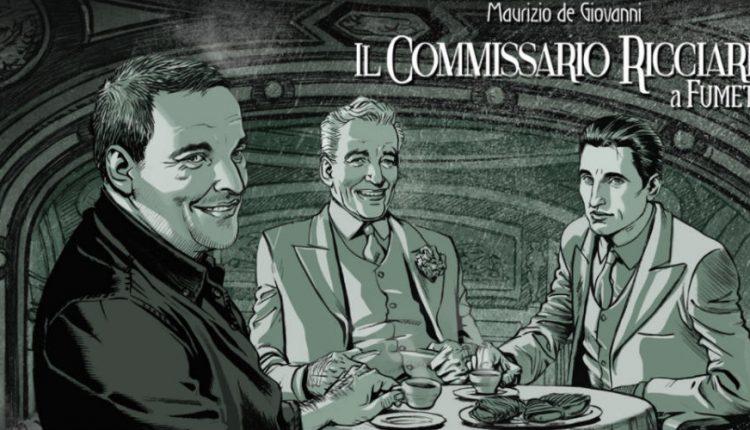 Napoli. Incontri con l'autore: Claudio Falco e Daniele Bigliardo per la presentazione dei fumetti del Commissario Ricciardi