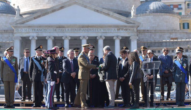 """Il Liceo """"Armando Diaz"""" celebra l'Unità d'Italia in memoria del Generale Diaz e degli ex studenti eroi di guerra."""