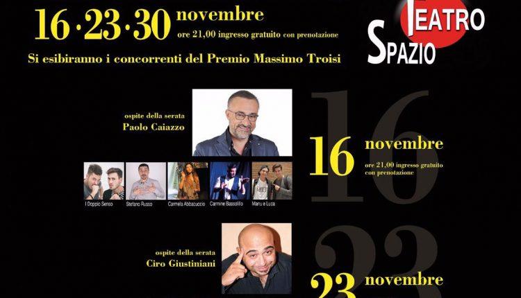 Premio Massimo Troisi – Inizia la seconda parte della manifestazione dedicata al celebre attore sangiorgese