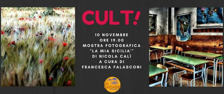 """Rassegna cult al Gourmeet- Venerdì 10 novembre """"La mia Sicilia"""" di Nicola Calì"""
