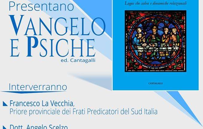 «Vangelo e Psiche», la presentazione venerdì 3 novembre ai Giardini di Villa Giulia di Sant'Anastasia